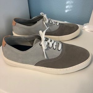 Cole Haan Suede Grandpro Two Tone Sneakers Gray 9